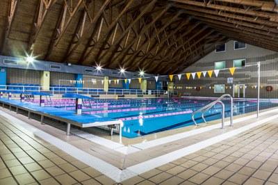 Tancament puntual de la piscina del Complex d'Encamp
