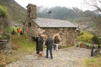Una quarantena de persones celebren la festivitat de Sant Romà de Vila