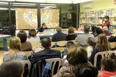 Una vintena de persones s'apleguen a Encamp per escoltar Omar El Bachir