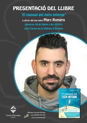 """Xerrada sobre com aconseguir els nostres propòsits de vida amb el """"coach"""" Marc Romera"""