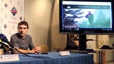 Xevi Guinovart i Albert Jorquera ofereixen la conferència 'Trailrunning i skyrunning: passat, present i futur'