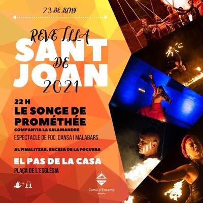 Revetlla de Sant Joan 2021 PAS DE LA CASA